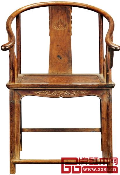 明 黄花梨圈椅