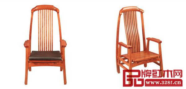 青木堂新中式红木家具《琴瑟椅》