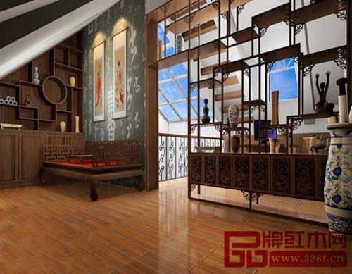 中式书房 静心潜读的空间