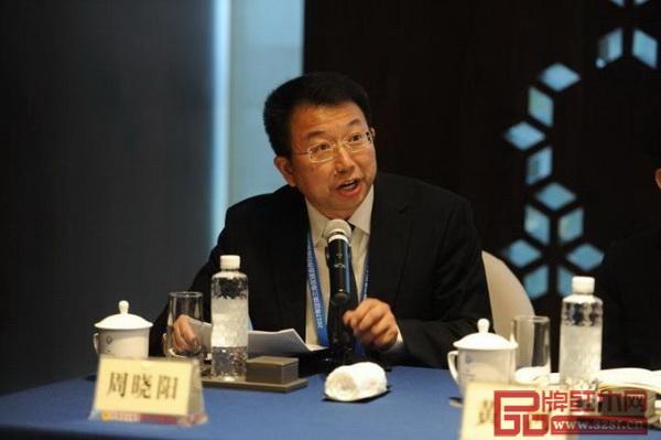 广州办周晓阳主任作华南川商返乡发展情况汇报