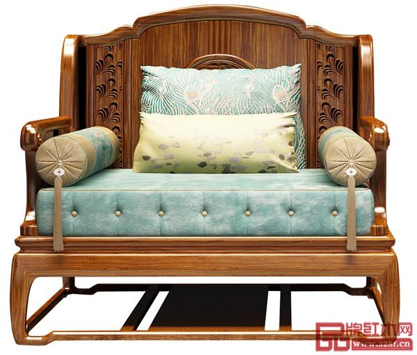 雍博堂红木《演义新中式沙发》