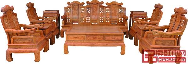 盛世鲁班专利产品《五福沙发》