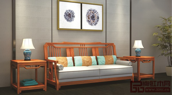 尚品红木《缅甸花梨·尚品雅木新中式系列沙发》