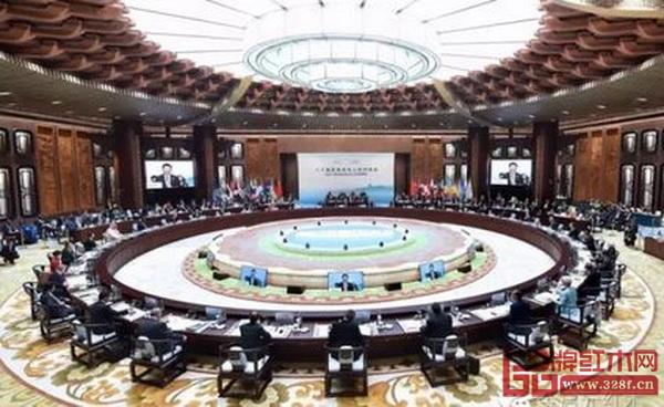 2016年9月,红木家具亮相二十国集团领导人第十一次峰会(G20峰会)主会场