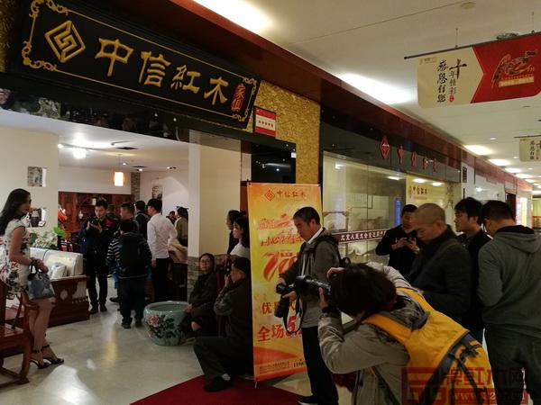"""首届""""中信红木杯""""中国风摄影大赛现场"""