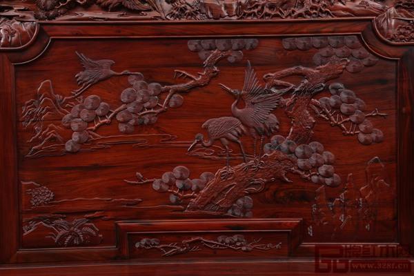 重视景物细节的刻画,御乾堂红木保证每件家具都是精品