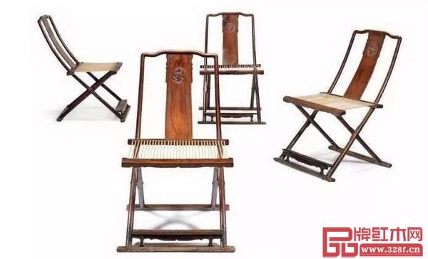 黄花梨团龙纹交椅拍出5000多万元