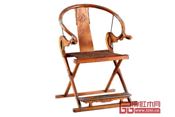 波记家具――《海南黄花梨交椅》