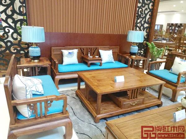 画梁新中式红木家具重新定义品位生活