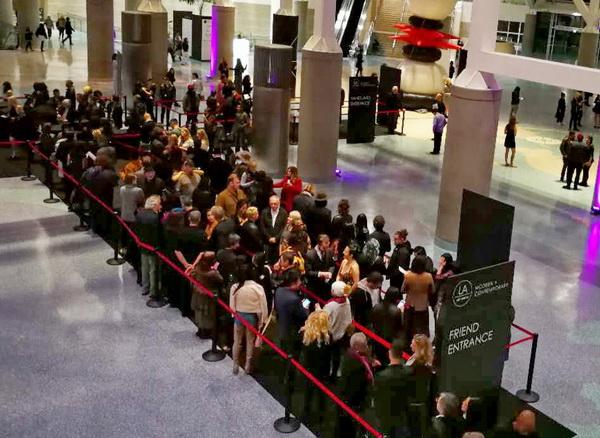 美国洛杉矶国际艺博会中国国家展开幕式隆重举行,VIP之夜活动人气超旺
