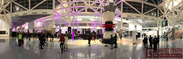 美国洛杉矶国际艺博会中国国家展于1月14日收官