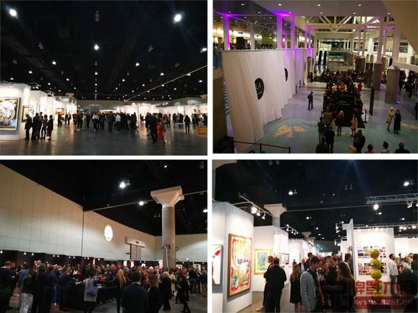 美国洛杉矶国际艺博会中国国家展持续火爆进行中