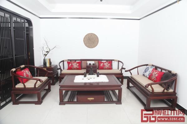 雅典红木研发设计—印象东方《唐艺沙发》