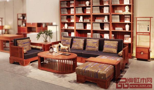 东莞市鸿普轩家具有限公司 《世外桃源·君尚沙发》