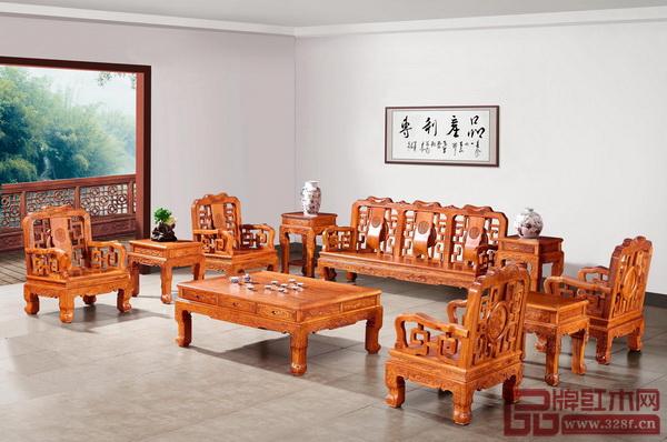 中山国方(大不同)家居有限公司 《古韵沙发》