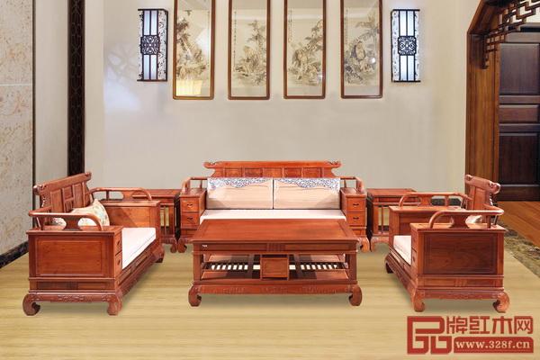 中山市大汇堂红木家具有限公司 《汇艺东方沙发》