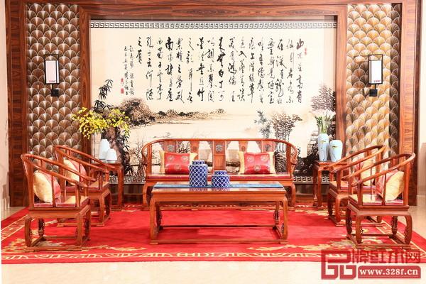 中山市富宝轩家具有限公司 《皇宫椅沙发独板》