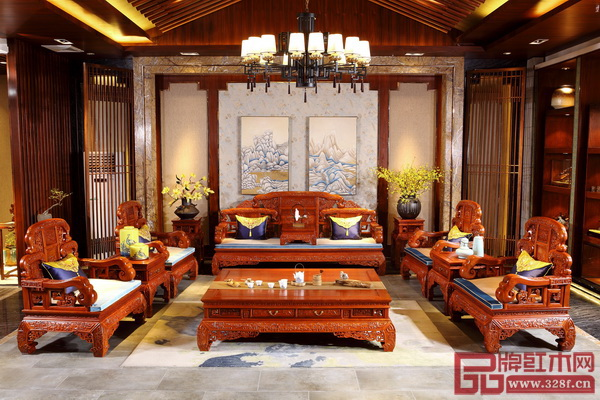 佛山市华行红木家具有限公司 《四季如意沙发》