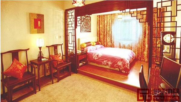 如何用红木家具装饰浪漫婚房