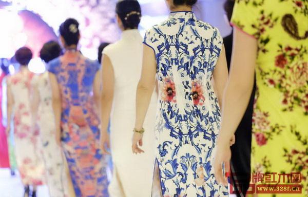本届中山红博会将举办千人旗袍巡演秀,演绎中国旗袍的高贵与雅致(资料图)