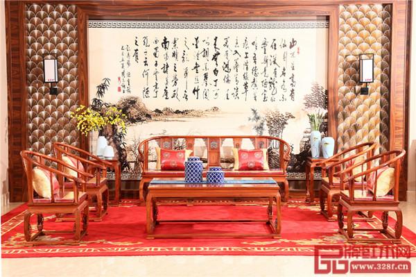 富宝轩红木产品《皇宫椅沙发》