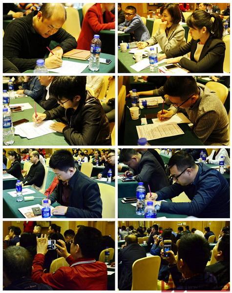 两位主讲嘉宾精彩的分享使得在座嘉宾纷纷用手机和纸笔记录下每一个知识点