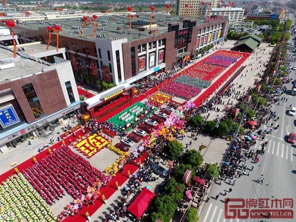2018中国・花园红木家具展销会开幕式隆重举行
