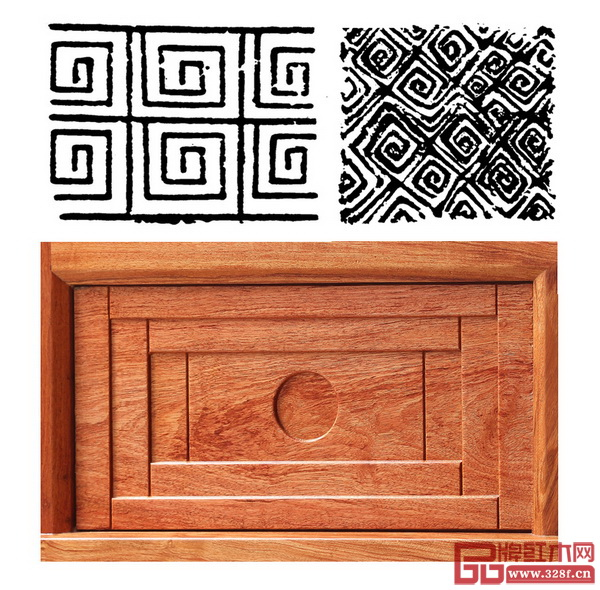 忆古轩·世珀——《庭前》系列的回字纹雕刻细节 回字纹,一种东方纹饰的回归,需要具备更纯粹的文化、美感,工艺、构思,《庭前》系列的回字纹变形层叠,让观赏者在不同角度拥有结构上的差异美感,同时也让其获得历久弥新的隽永和摩登活力
