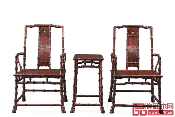 泰和園《當代君子竹節椅》亮相美國洛杉磯國際藝博會中國國家展