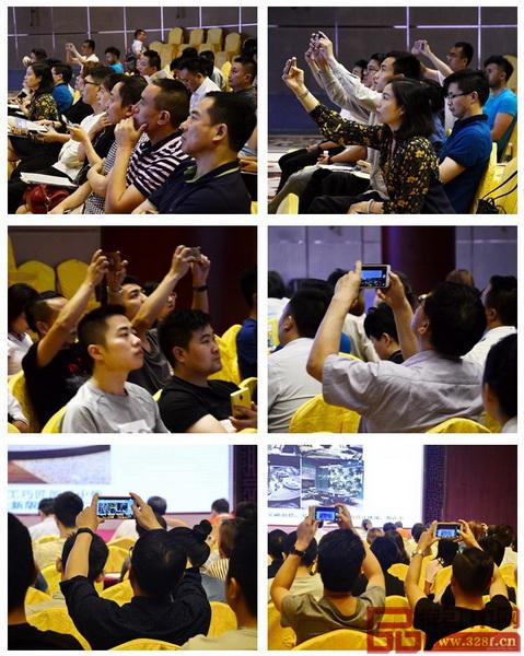 彭亮教授的精彩分享使得在座嘉宾纷纷用手机记录下每一个知识点