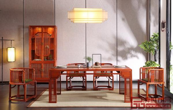 国寿・世外桃源《君尚餐厅系列》融合了传统与现代,符合当下生活需求的同时,又保留了传统中式韵味