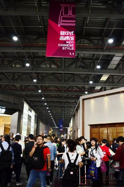 新中式品牌在东莞名家具展得到很好的传播