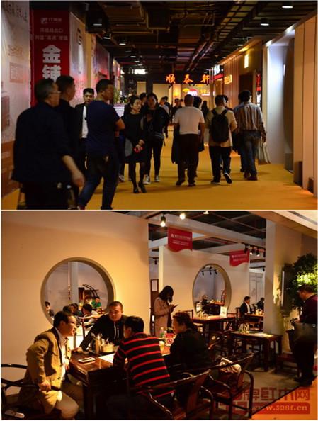 大批经销商穿梭于品牌展馆,寻找新产品、新商机