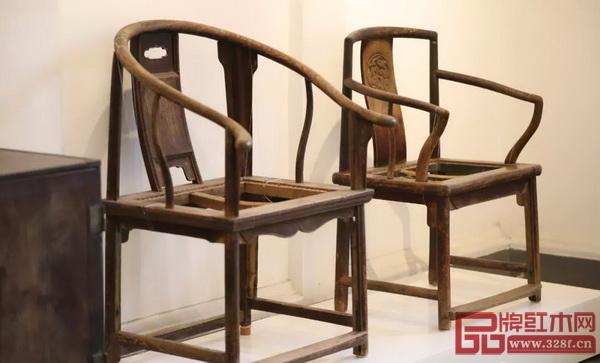 明式榉木家具整体更显明快、简洁