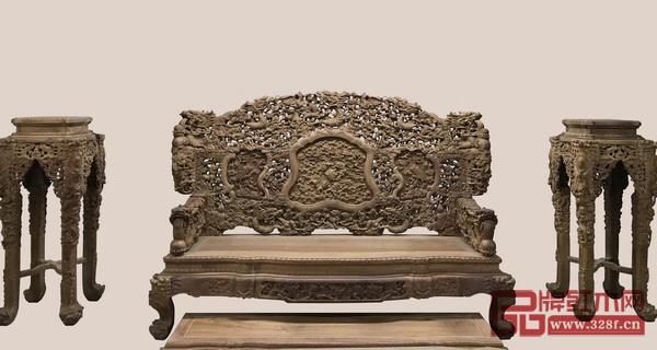 帝皇家具 《大锦龍床》