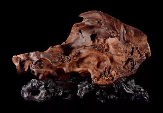 莆田木雕作品《洞天福地》