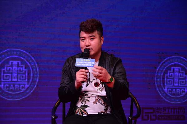 品牌红木家具经销商联盟主席团主席、河北大家风范家居董事长陈振