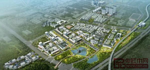 中国广作红木特色小镇规划图