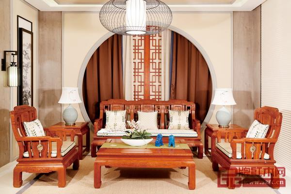 明堂红木――《明尚沙发》