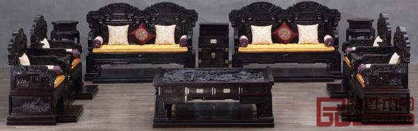 明堂红木――《和天下宝座沙发》