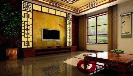 17个中式背景墙装修 中国人的装修风格-品牌红木网