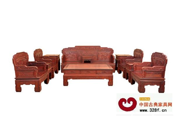名典轩--江南宝座沙发