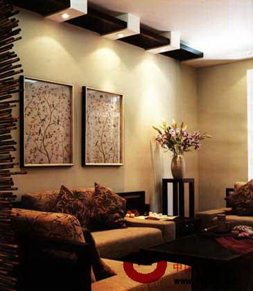 中式客厅装修效果图:让人轻松的中式