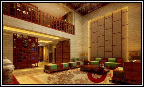 现代豪华装修图片 新中式与东南亚风的混搭