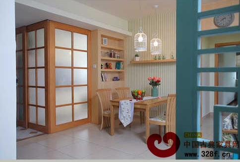 清新现代中式风格 153平米舒适大宅温馨设计