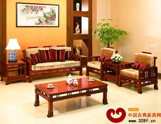 不同家装风格如何 兼容 红木家具高清图片