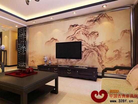 中式客厅装修 nbsp 隔断设计 东阳红木家具网 新浪轻博客