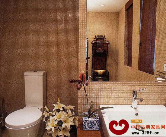 中式风格家庭休闲区设计图 高清图片