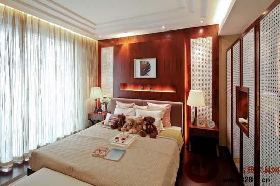 身心舒畅 中式别墅装修效果图-品牌红木网