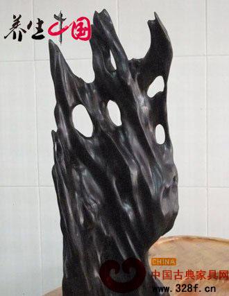 可治霍乱的红木材质——乌木